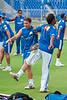 Mumbai Net practice during IPL 3 at Brabourne Stadium for match against Bangalore