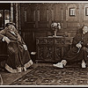 Wroxton Abbey, 1620 <br /> The Abbot and the Wizard relax after a particularly taxing exorcism