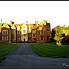 "The Long Road ""Home"" <br /> Returning to Wroxton Abbey at sunset."