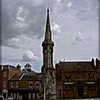Clouds Above the Cross; Banbury, UK