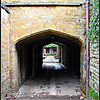 Carriage Entrance, Wroxton Abbey <br /> Now occasionally used as a passageway by the housekeeping staff
