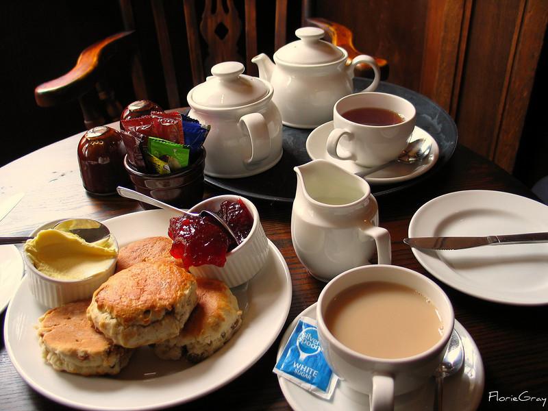 Lovely Cream Tea, Oxford, UK