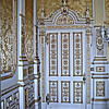 Regency Room, Wroxton Abbey <br />  Door leading to one of the royal bedrooms.  King James, among others, was a guest here.