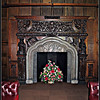 Reading Room, Wroxton Abbey <br /> One of a seemingly endless number of fireplaces in a seemingly endless number of beautiful rooms
