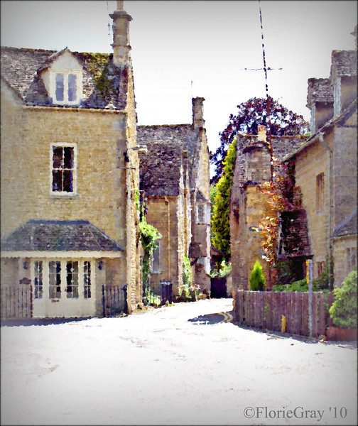 Photopainting, Bourton-on-the-Water