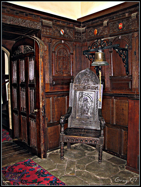 The Best Seat in the House <br /> Immediately below the minstrels' gallery; Wroxton Abbey, England