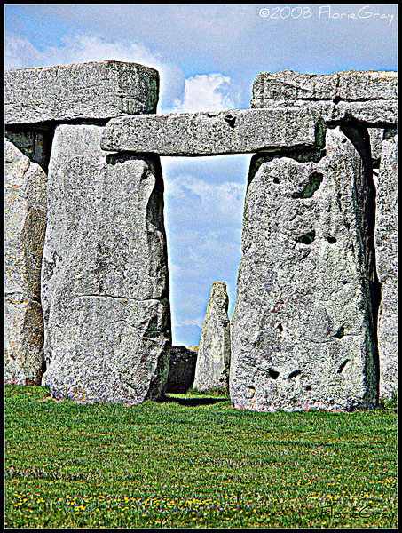 Stonehenge in Summer  <b>Not to be reproduced without the written permission of Florence T. Gray</b>