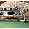 At the baths; Bath, England