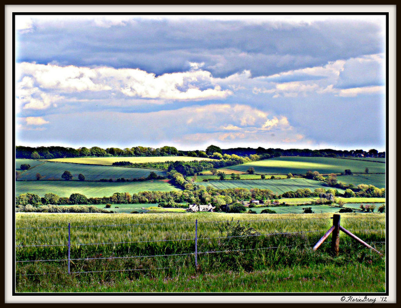 Below the Rollright Stones <br /> the world goes on forever...<br /> <br /> ©2008 FlorieGray