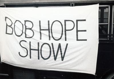 Bob Hope Show - behind the scenes pics