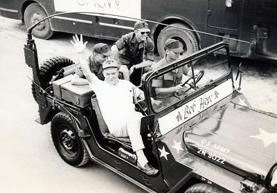 Bob Hope Show - behind the scenes pics - Bob Hope and General Hollis