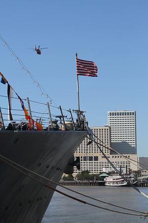 Navy Fleet Week in New Orleans 2012 Photography By Lloyd R. Kenney III ©2012