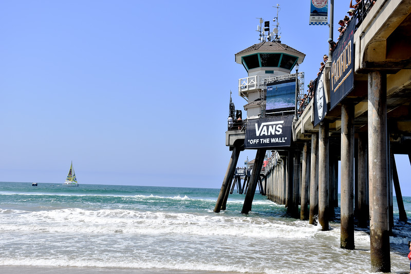 Vans Sponsors the US Open at Huntington Beach Pier in CA