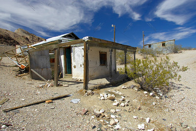 Ryolite Abandoned Town