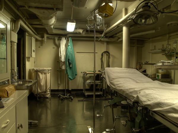 USS Hornet - Hospital - Operating Room