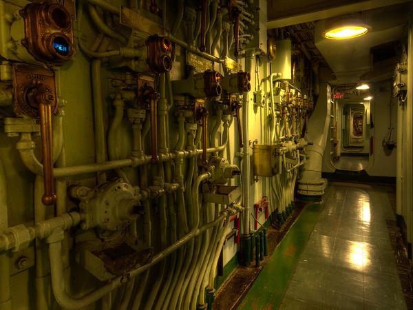 USS Hornet - Walkway