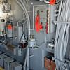 Control Room on USS Iowa Battleship in San Pedro CA