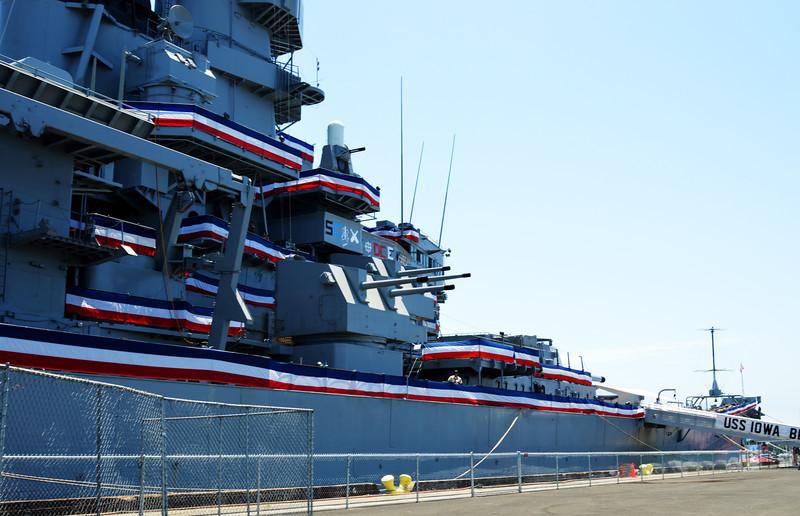 USS Iowa Battleship in San Pedro CA 2