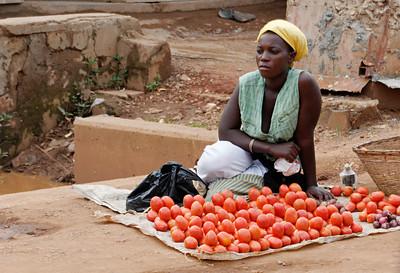 Vendor.  Kampala, Uganda
