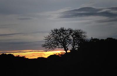 Sunset, Uganda