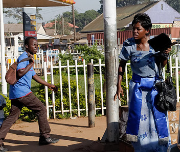 Street Preacher.  Kampala, Uganda.