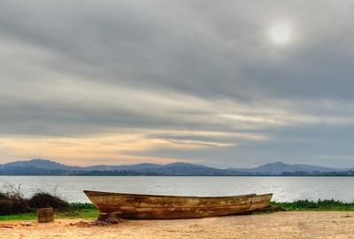 Shore of Victoria Lake, Uganda
