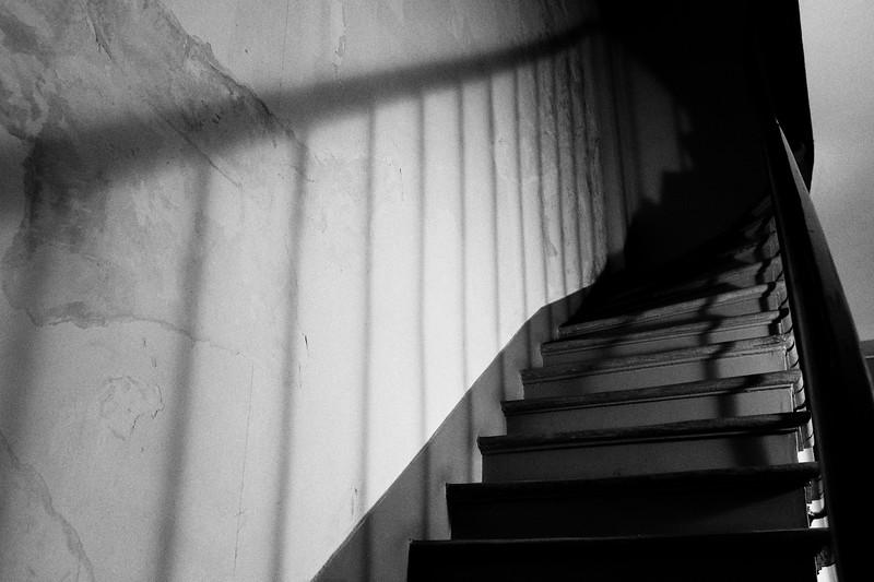 Escalier menant à l'appartement, Marais