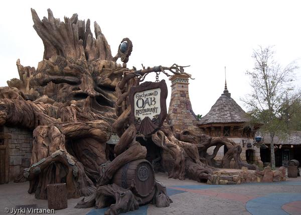 Enchanted Oak Restaurant - Universal Studios, Orlando, FL, USA