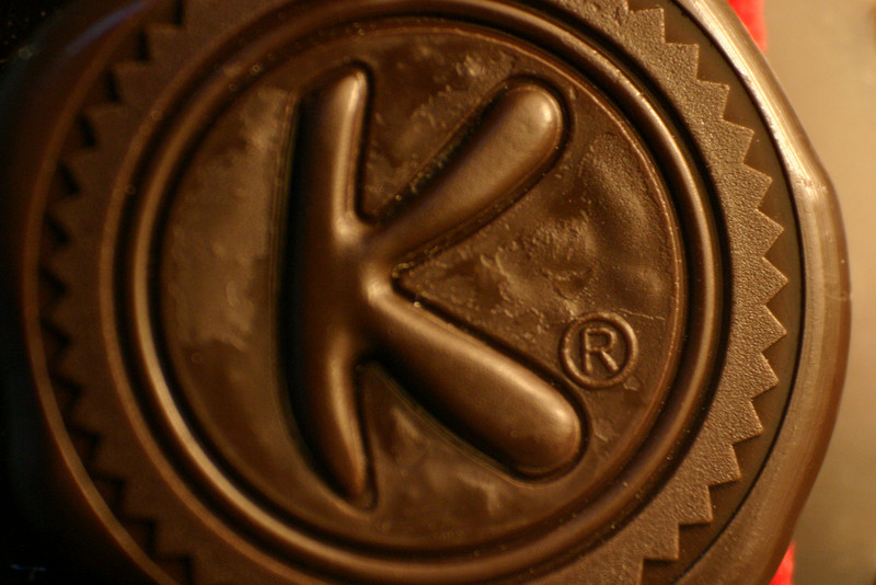 Kahlua The faux wax seal on a Kahlua bottle is plastic, of course, but it\'s the registered trademark symbol that mars its beauty