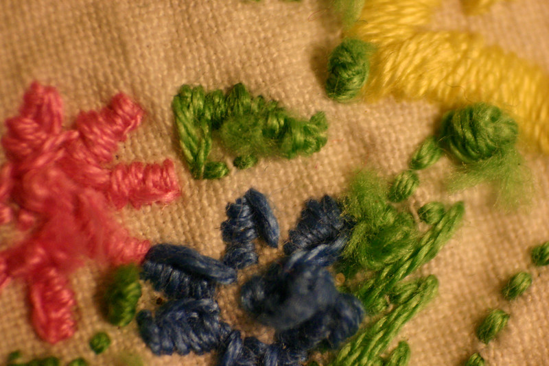 Embroided What is the purpose of embroidery, if not to embroid fabric?