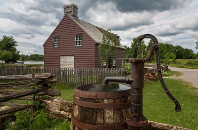 Pump by Tenant Farmer's Home