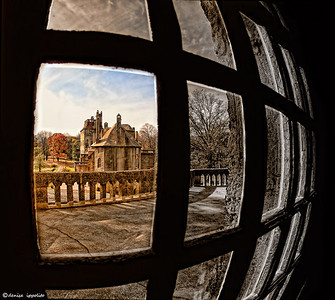 The Fonthill Castle as seen from the Carriage House Finalist in Better Photo Featured in Digital Darkroom for Better Photo