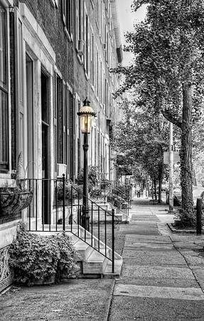 A Quiet Street in Philadelphia