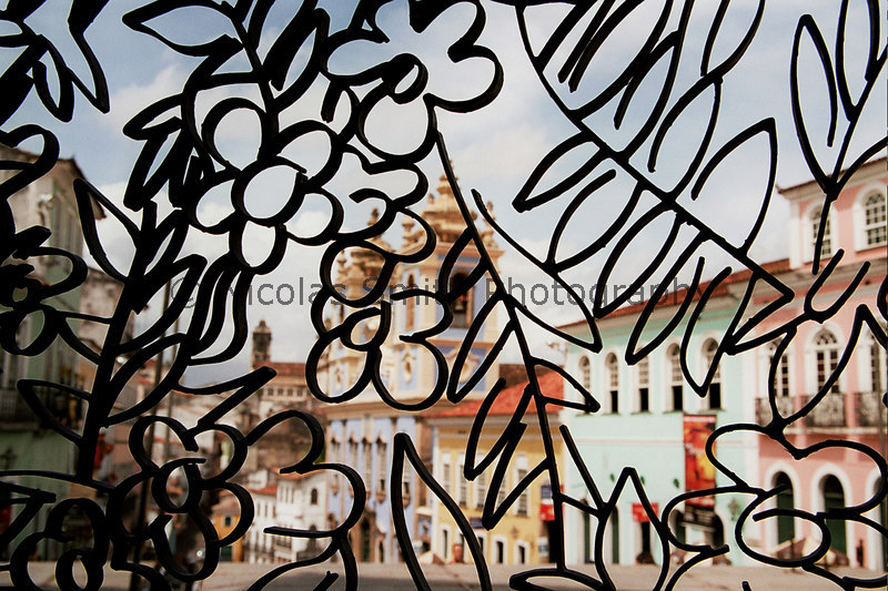Sculpture in the Pelourinho: Salvador, Brazil, 2005; *All images and gift items print without the watermark*