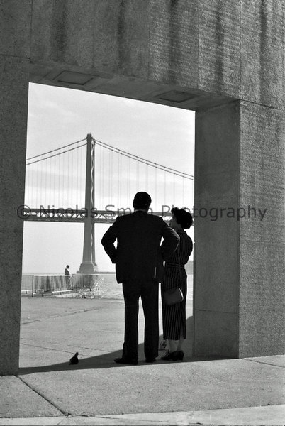 Contemplation: San Francisco and the Bay Bridge, 1995;  *All images and gift items print without the watermark*