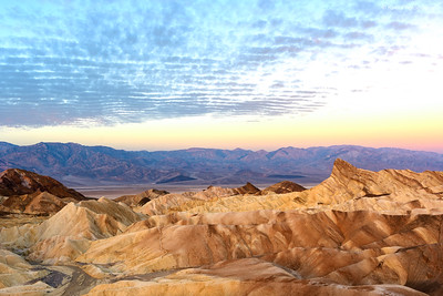 Sunrise at Death Valley National Park