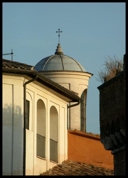 Chiesa di Roma al Tramonto