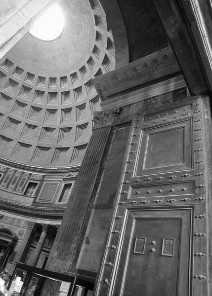Up at the Pantheon