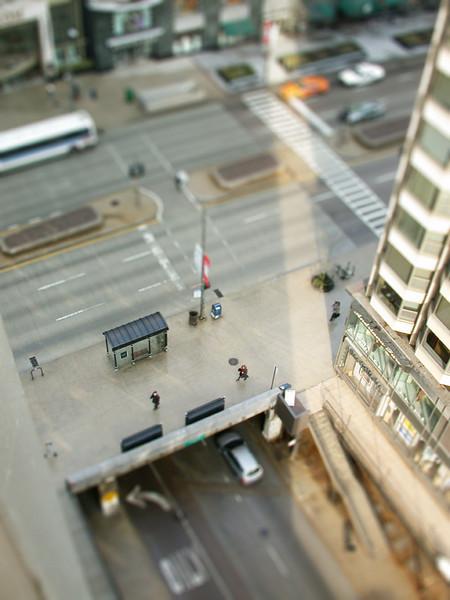 Miniaturized Michigan Avenue