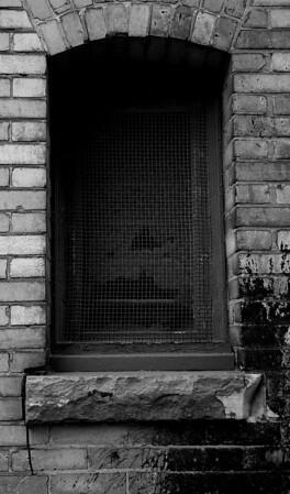 Window in an alley