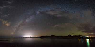 Rainbow Milky Way, Rocky Point, Mexico