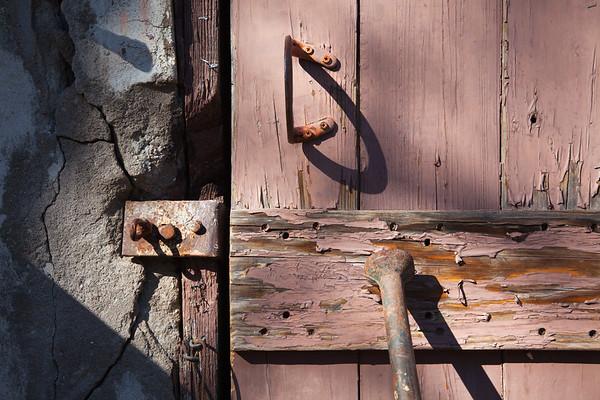 Old doors, old knobs, old hardware, AZ