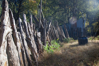Remnants of hundred year old fence, Galiuro Mountains, AZ