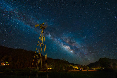 Greer Windmill and that Milky Way