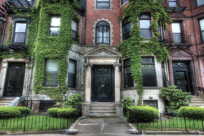 Brownstones and Ivy, Boston, MA