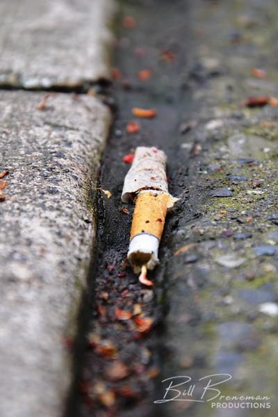 Dodging Cigarettes at Noon