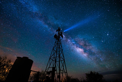 Windmill or Lighthouse? Casa Grande, Arizona