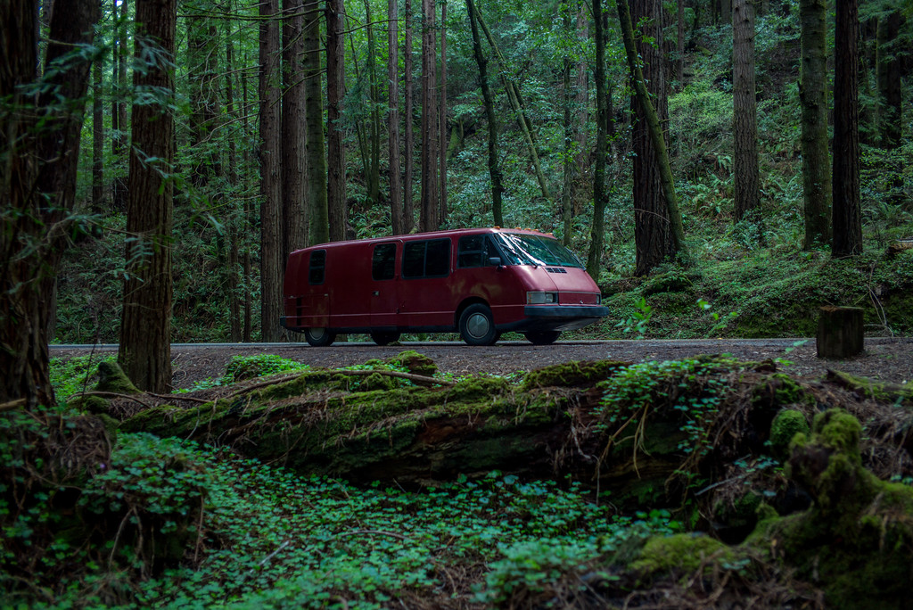 Unlike most RVs, the Vixen is small and given its distinctive design, it fits beautifully into almost any environment.