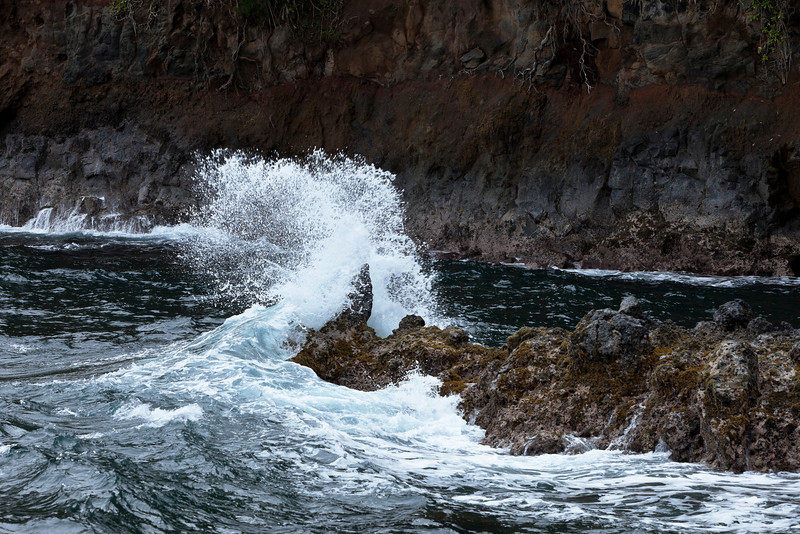 Breaking Wave in Boulder Creek Cove