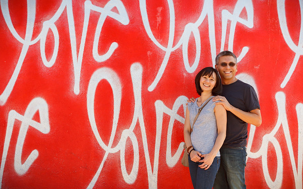 The Red Love Wall by Curtis Kulig  Smashbox Studios 8549 Higuera Street Culver City, CA 90232